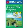 WK 705 - Amrum - För turistatérkép - KOMPASS