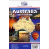 Hema Ausztrália térkép - Hema