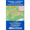Sappada, Santo Stefano, Forni Avoltri térkép - 01 Tabacco