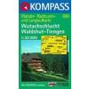 WK 899 - Wutachschlucht - Waldshut - Tiengen turistatérkép - KOMPASS