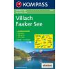 WK 062 - Villach - Faaker See turistatérkép - KOMPASS