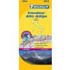 Trentino - Dél-Tirol térkép - Michelin 354