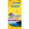 Campania, Basilicata térkép - Michelin 362