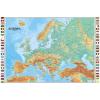 Európa domborzata falitérkép - HM