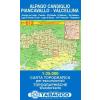 Alpago, Cansiglio, Piancavallo, Valcellina térkép - 012 Tabacco
