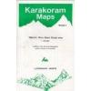 Siachen, Rimo & Saser Kangri Area (no4.) térkép - West Col
