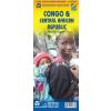 Kongó és Kongói Demokratikus Köztársaság térkép - ITM