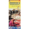 Rough Guide Marrakesh és Észak-Marokkó térkép - ITM
