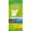 Barcelona környéke és a Costa Brava térkép - Michelin 147