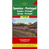 Spanyolország és Portugália autótérkép - f&b AK0522