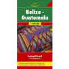Belize / Guatemala autótérkép - f&b AK 160