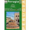 Perugia térkép - LAC