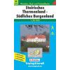 Steirisches Thermenland - Südliches Burgenland turistatérkép - f&b WK 423