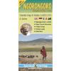 Ngorongoro térkép - Harms