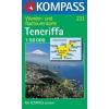 WK 233 - Tenerife turistatérkép - KOMPASS