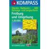 WK 889 - Freiburg és környéke turistatérkép - KOMPASS