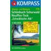 WK 776 - Schönbuch-Schurwald-Neuffen-Teck turistatérkép - KOMPASS