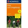 Graz és környéke kerékpártérkép - Kompass RWK 3202