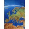 Európa panorámatérképe wandi - Stiefel