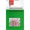 Granatspitzgruppe turistatérkép - Alpenvereinskarte 39