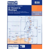 St Vincent to Mustique Chart B30 - Imray