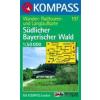 WK 197 - Südlicher Bayerischer Wald turistatérkép - KOMPASS