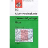 Karwendelgebirge, Mitte turistatérkép - Alpenvereinskarte 5/2