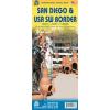 San Diego és az USA délnyugati része térkép - ITM