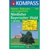 WK 195 - Nördlicher Bayerischer Wald turistatérkép - KOMPASS