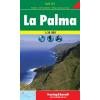 La Palma turistatérkép - f&b WKE 2