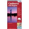 Canberra és környéke térkép - Hema