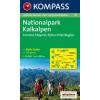 WK 70 - Nationalpark Kalkalpen turistatérkép - KOMPASS