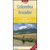 Kolumbia és Ecuador térkép - Nelles