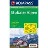 WK 83 - Stubaier Alpen turistatérkép - KOMPASS