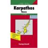 Karpathosz-Kaszosz autótérkép - f&b AK 0816
