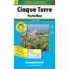 Cinque Terre turistatérkép - f&b WKI 31