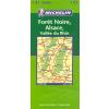 Fekete-erdő, Elzász, Rajna-völgy térkép - Michelin 131