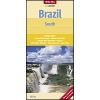 Dél-Brazilia térkép - Nelles