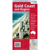 Gold Coast és környéke térkép - Hema