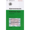 Kitzbüheler Alpen, Ost turistatérkép - Alpenvereinskarte 34/2