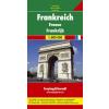 Franciaország autótérkép - f&b AK 0403