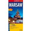 Varsó Comfort térkép - ExpressMap
