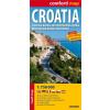 Horvátország Comfort térkép - ExpressMap