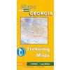 Barisakho - Roshka - Juta - Asa Gorge trekking térkép (No 3) - Geoland