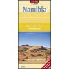Namibia térkép - Nelles