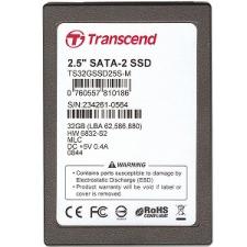 Transcend SSD25S 32GB SATA2 TS32GSSD25S-M merevlemez