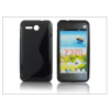 Haffner Huawei Ascend Y320 szilikon hátlap - S-Line - fekete