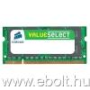 Corsair 4GB DDR3 1066MHz notebook memória