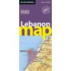 Libanon autótérkép - Explorer Publishing
