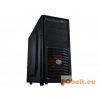 "CoolerMaster K282 Midi Tower Táp nélkül Black Black,3x5,25"",7x3,5"",ATX,Midi Tower,Audio,Táp nélkül,219,6x416x483 mm,1x"